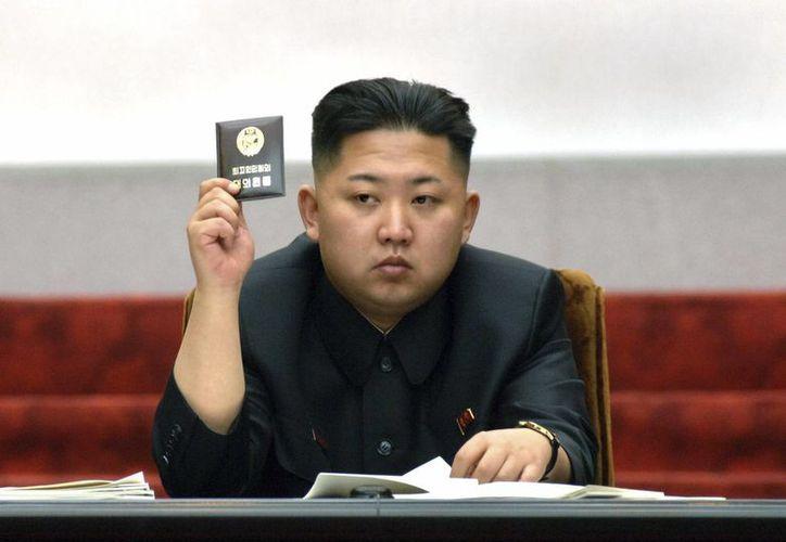 El líder de Corea del Norte afirma que la bomba de hidrógeno es una forma de proteger al país de amenazas extranjeras. (Archivo/AP)