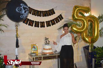 Dinangeli Acosta celebra su cumpleaños