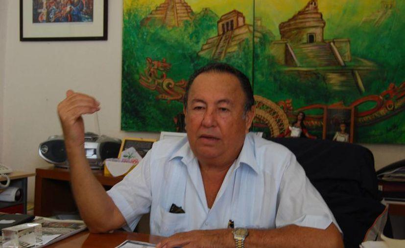 Ramón Patrón García, subsecretario de Cultura de la zona norte del estado. (Tomás Álvarez/SIPSE)