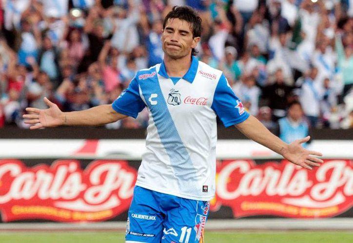 Matías Alustiza, jugador de La Franja de Puebla, pasó un momento bochornoso cuando la policía detuvo el automóvil en el que se transportaba, por un arma de fuego que resultó ser de juguete. (Jammedia)