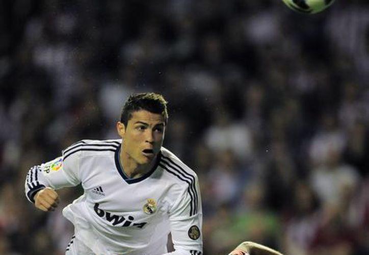 Cristiano Ronaldo, instigador de la victoria 'merengue' sobre el Athletic de Bilbao. (Agencias)