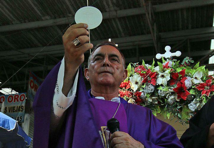 El obispo fue a pedirle a los narcos sostener una jornada electoral sin violencia. (Foto: Proceso)