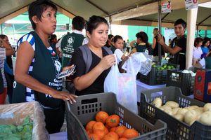 'Recicla por tu bienestar' en la colonia San Antonio Xluch III
