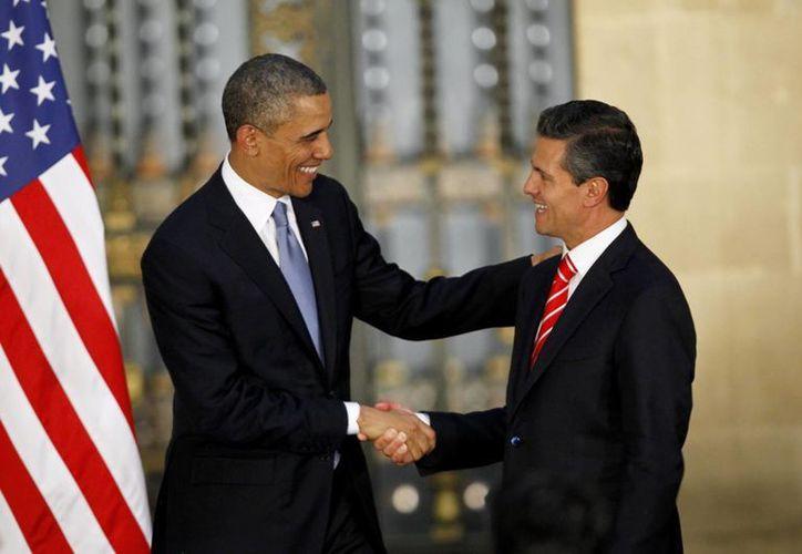 Obama dijo a Peña Nieto que la captura de Joaquín Guzmán Loera es resultado de un trabajo eficiente. (EFE/Archivo)