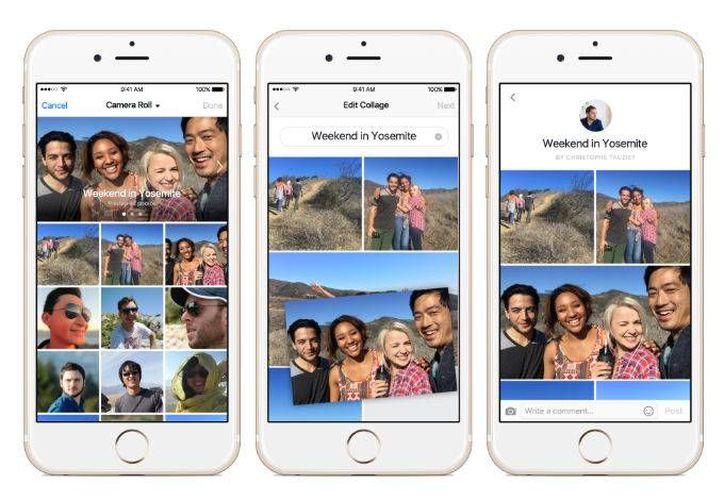 La herramienta para compartir video en tiempo real está disponible de momento para usuarios de dispositivos con sistema operativo IOS. (Foto: Facebook)