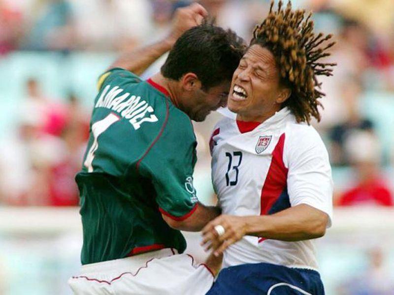 El mexicano Rafael Márquez podría convertirse en el jugador con más tarjetas recibidas en Mundiales, por encima de Zidane y Cafú (Foto: mexsport)