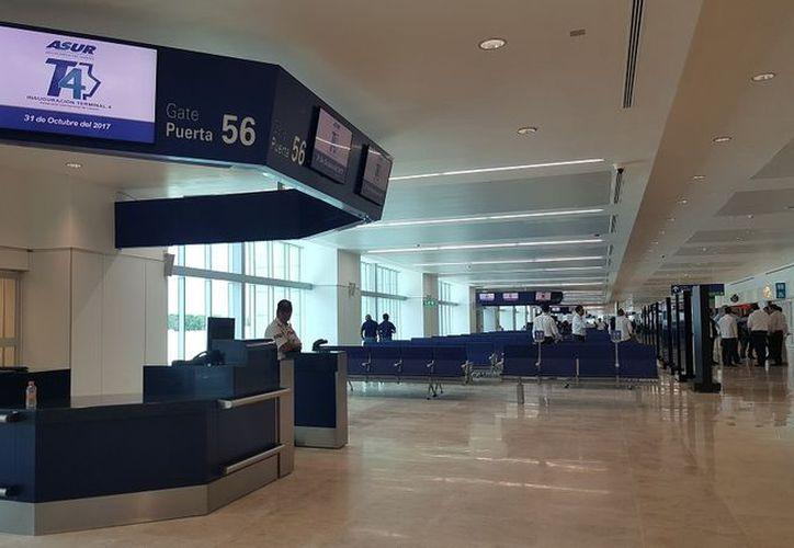Va presupuesto para Terminal 5. ( Foto:SIPSE)