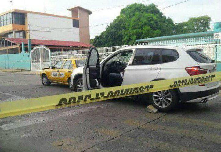 La ejecución se realizó en el cruce de las calles Plutarco Elías Calles con Gregorio Méndez, en Villahermosa, Tabasco. (SIPSE)