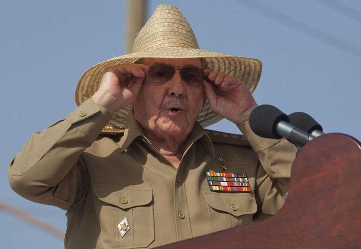 Castro pronunció un discurso en el acto conmemorativo del 60 aniversario del ataque el cuartel Moncada. (Agencias)