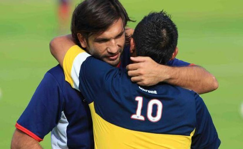 El director técnico del América, Miguel Herrera, evitó que la prensa del Atlante hiciera su trabajo durante el partido. (Foto/Cortesía)