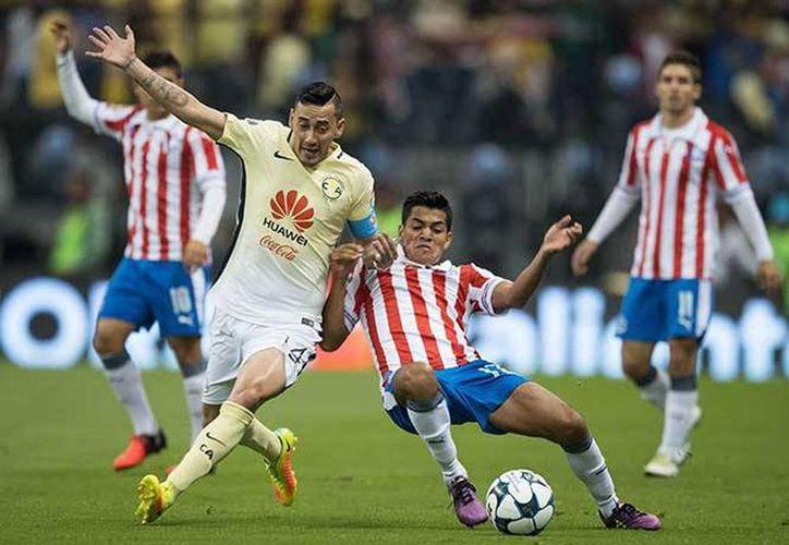 América y Chivas se enfrentarán los próximos 24 y 27 de noviembre, en los cuartos de final del Apertura 2016. (Archivo/Notimex)