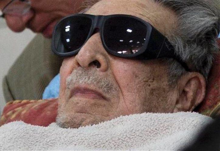 El forense guatemalteco indicó que el exdictador Efraín Ríos Montt padece demencia senil. (Archivo/AP)