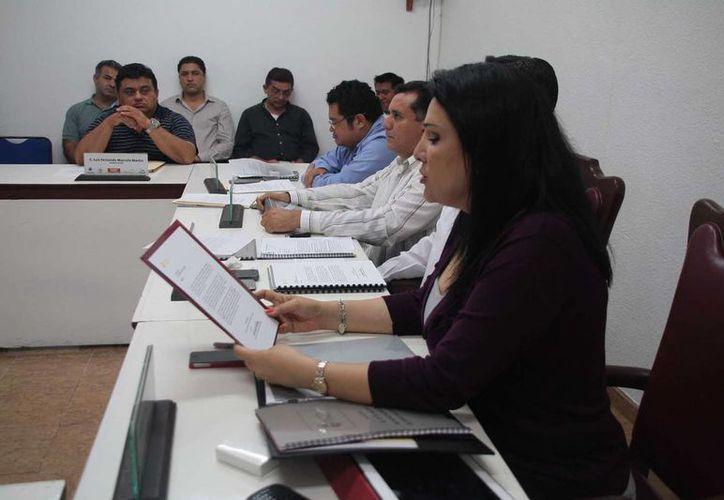 Adriana Teissier solicitó la licencia por tiempo indefinido al cargo. (Julián Miranda/SIPSE)