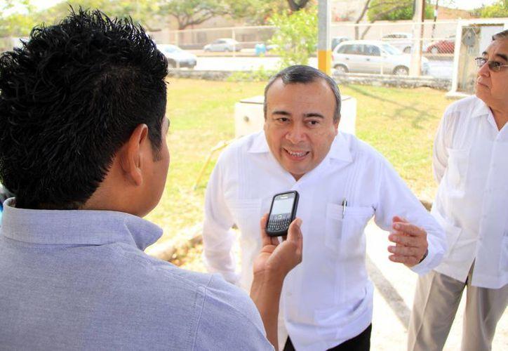 José Luis Vargas Aguilar, director de la Facultad de Derecho de la UADY. (Milenio Novedades)