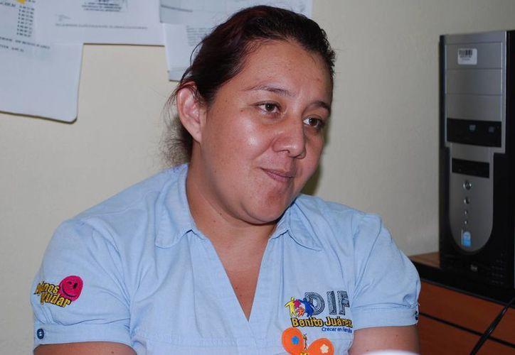 Ana Luz Ortega Escamilla, Procuradora de la Defensa del Menor y la Familia del DIF municipal. (Tomás Álvarez/SIPSE)