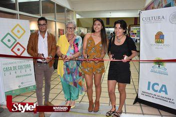 Exposiciones simultáneas en Casa de la Cultura Cancún