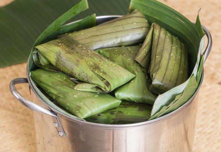 Los tamales de té verde tienen manteca vegetal. (Contexto/Internet)