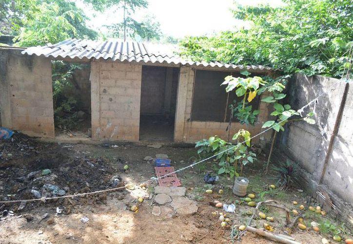 El predio donde fueron hallados los restos. (versiones.com.mx)