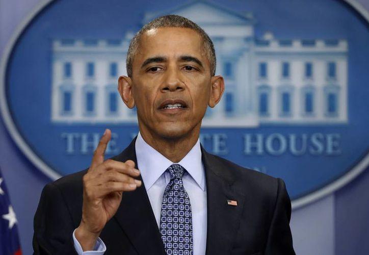 Obama ordenó durante su mandato un total de 64 indultos, que solamente puede conceder el Presidente de los Estados Unidos. (AP/Pablo Martinez Monsivais)