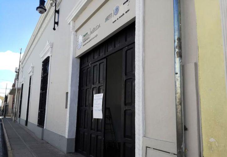 Punto México Conectado se encuentra ubicado  en la calle 61 entre 54 y 56 del centro de la ciudad.  (Foto: Milenio Novedades)