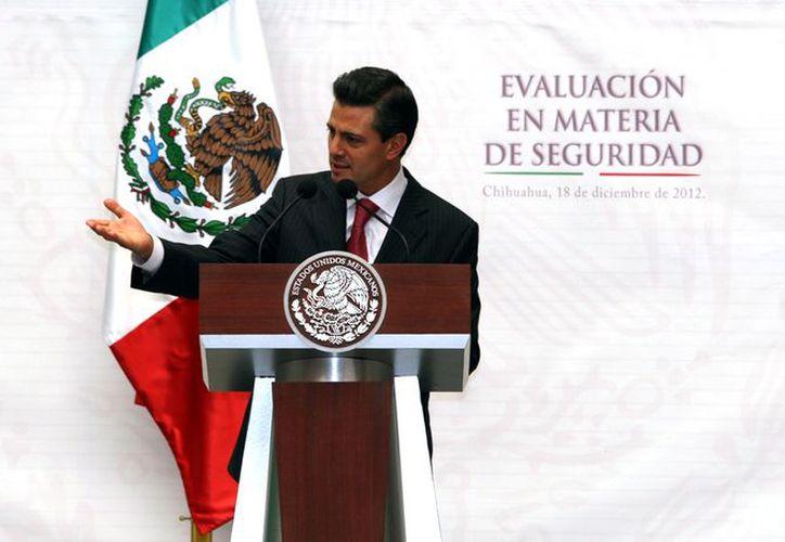 Peña aseguró que su gobierno 'no va a romper lo bien hecho'. (Notimex)