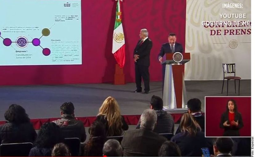 Santiago Nieto, titular de UIF informó que se indaga fraude fiscal, corrupción política y peculado en caso del contrato del Infonavit con la empresa Telra por 5 mmdp. (Agencia Reforma)