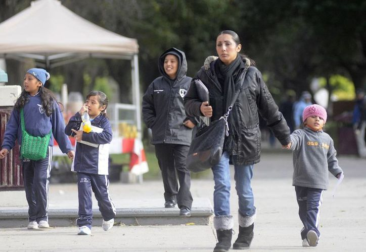 En Tamaulipas hubo ausentismo escolar del 50% pero en algunos casos hasta del 80%. (Notimex)