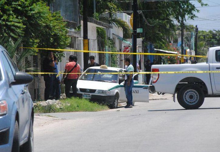 El asaltante que resultó herido el viernes pasado, perdió la vida el lunes. (Eric Galindo/SIPSE)