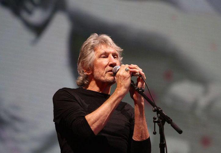 Roger Waters dio el miércoles el primero de tres conciertos programados en la Ciudad de México. (Notimex)