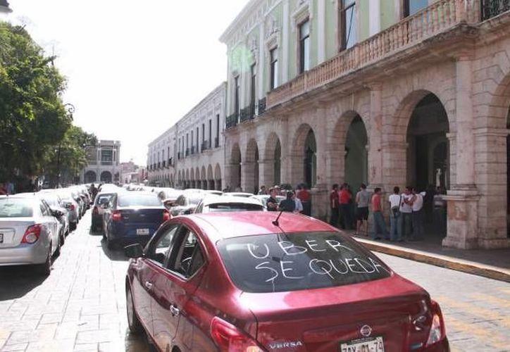 Desde su ingreso a Mérida, esta plataforma ha causado controversia entre ciudadanos, autoridades y competencia. (Archivo/ SIPSE)