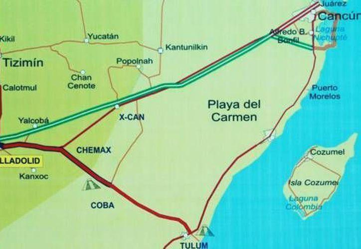 La ampliación de la carretera Mérida–Puerto Juárez se hizo en Yucatán el 28 de abril. (Redacción/SIPSE)