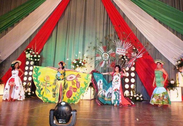 """El certamen constará de tres etapas y el """"opening"""", donde las participantes harán una estampa coreográfica. (Manuel Salazar/SIPSE)"""