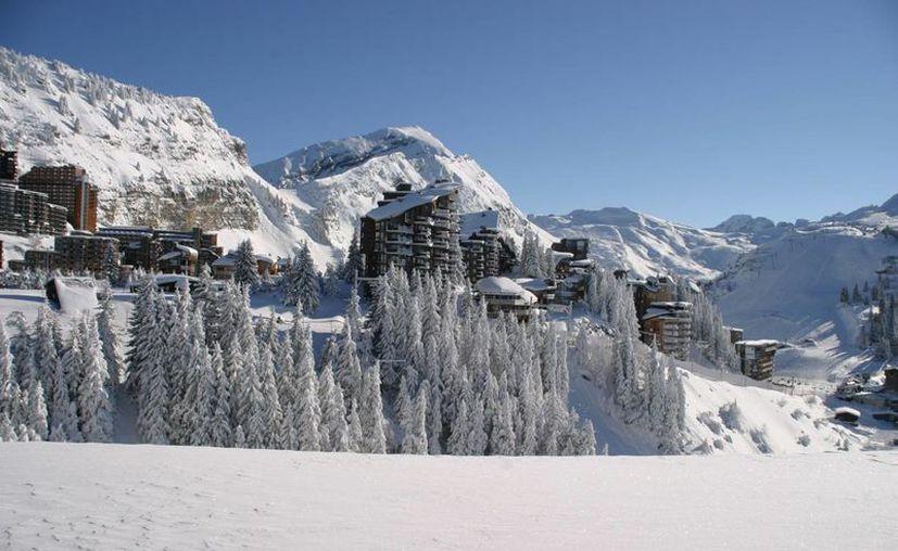 La avalancha se registró a las 4 de la madrugada en el Mont Blanc du Tacul. (agoride.com/contexto)