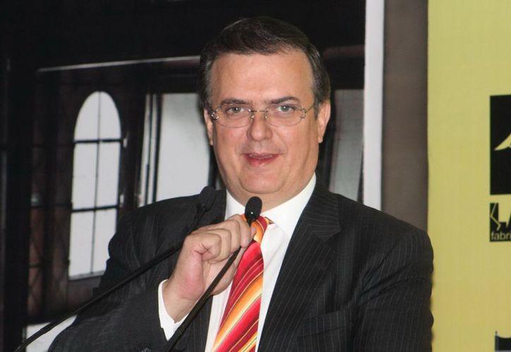 Marcelo Ebrard es quien propuso la realización de la cumbre en México. (Archivo Notimex)