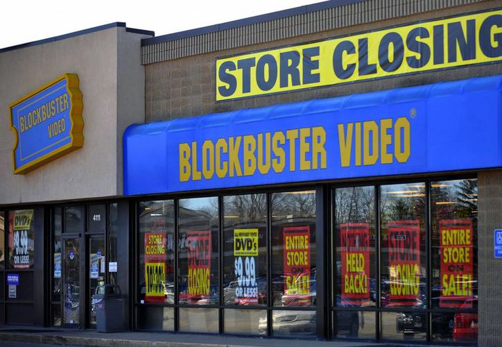 Blockbuster llegó a poseer más de cuatro mil establecimientos tan solo en Estados Unidos. (Agencias)