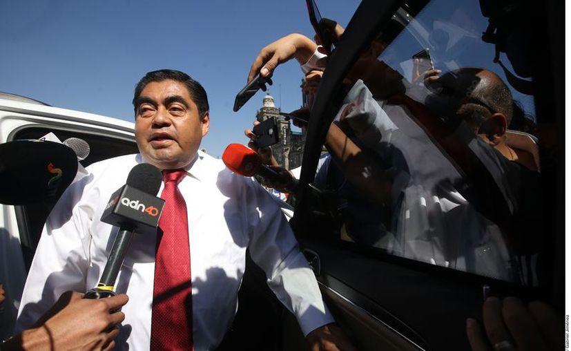 El Gobernador de Puebla, Miguel Barbosa. (Agencia Reforma)