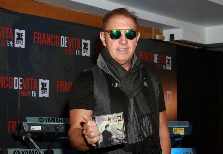 El interprete se presentará en Cancún el 26 de septiembre en la Plaza de Toros. (Redacción/SIPSE)