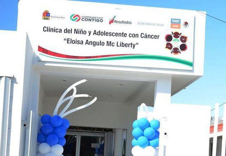"""La Secretaría Estatal de Salud impulsa la consolidación de la Clínica del Niño y el Adolescente con cáncer """"Eloísa Angulo McLiberty"""". (Redacción/SIPSE)"""