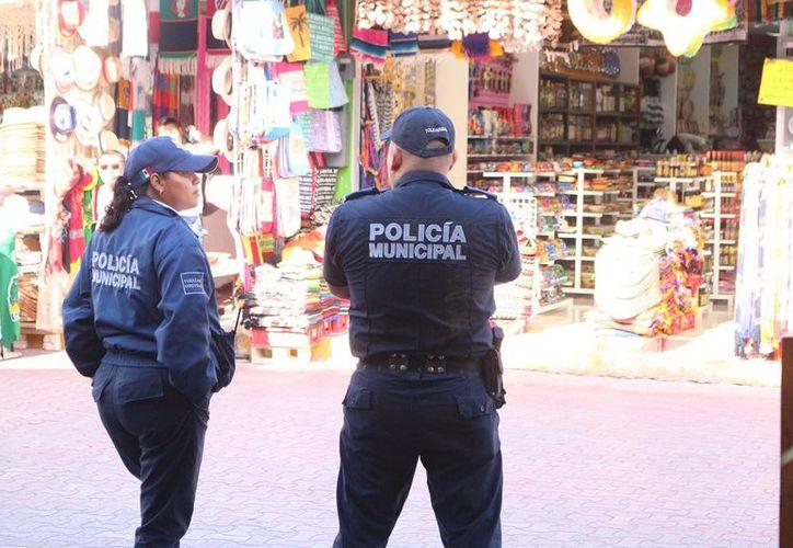 La vigilancia abarca desde la zona de Playacar hasta Punta Esmeralda, además de las principales avenidas. (SIPSE)