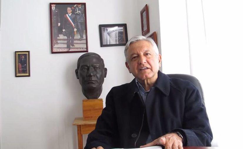 AMLO asegura que los oaxaqueños pueden lograr 'un gobierno del pueblo para el pueblo'. (Captura de pantalla/YouTube)