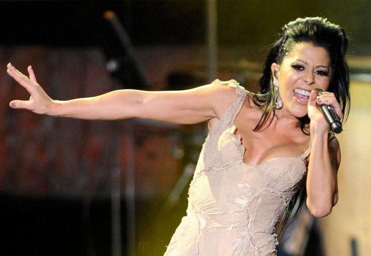 La cantante Alejandra Guzmán se presentará este domingo gratis en Cancún. (Cortesía)