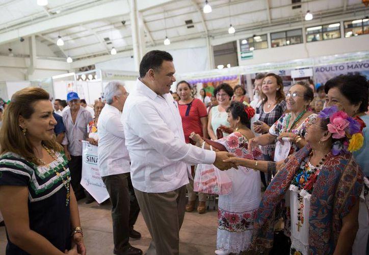 El gobernador de Yucatán, Rolando Zapata, estará en la instalación del Consejo Estatal de la Juventud. (Foto cortesía del Gobierno estatal)