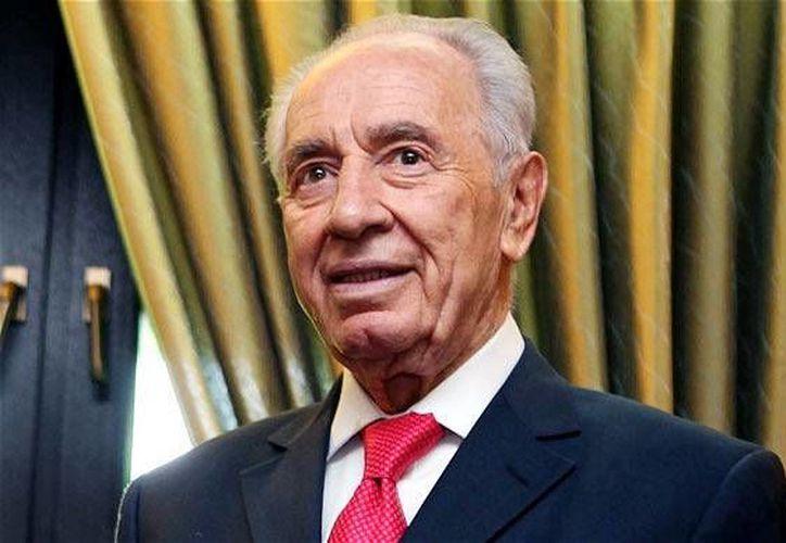 El presidente de Israel, Shimon Peres, llega a México para tratar temas como cooperación económica, comercial, científico-técnica, educativa y cultural. (telegraph.co.uk)