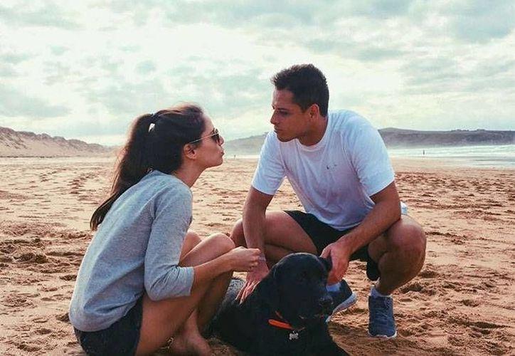 En octubre pasado, Javier Hernández y Lucía Villalón anunciaron su compromiso matrimonial, el cual será cancelado por la posible ruptura.(Foto tomada de Instagram/Javier Hernández)