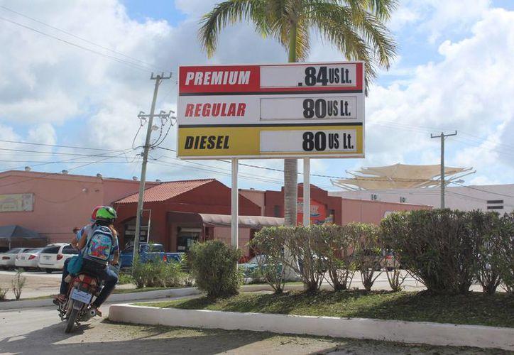 Prevén que el aumento en el costo de la gasolina beneficie a la zona. (Foto: Eddy Bonilla)