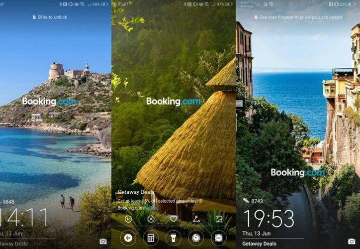 Usuarios de los teléfonos Huawei acusan que les sale publicidad de una app de viajes que no han instalado. (Twitter/@TecnoSpider)