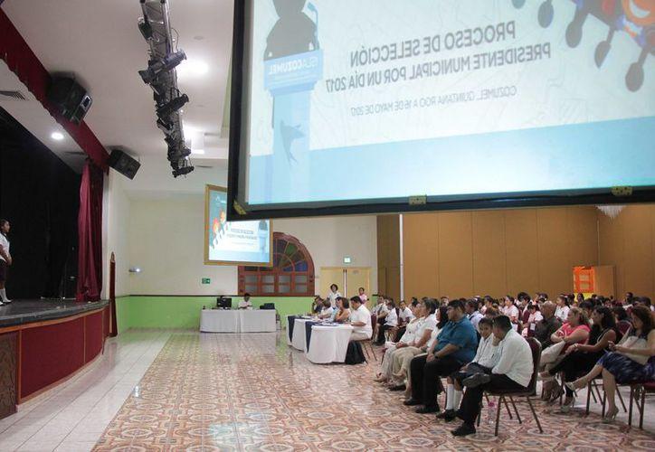 Un hotel a sur de la isla Cozumel fue la sede de la cuarta edición de la competencia. (Gustavo Villegas/ SIPSE)
