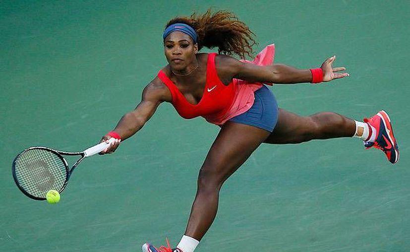Serena Williams esta en lo más alto del ranking de la WTA con 12 mil 660 unidades. (Agencias)
