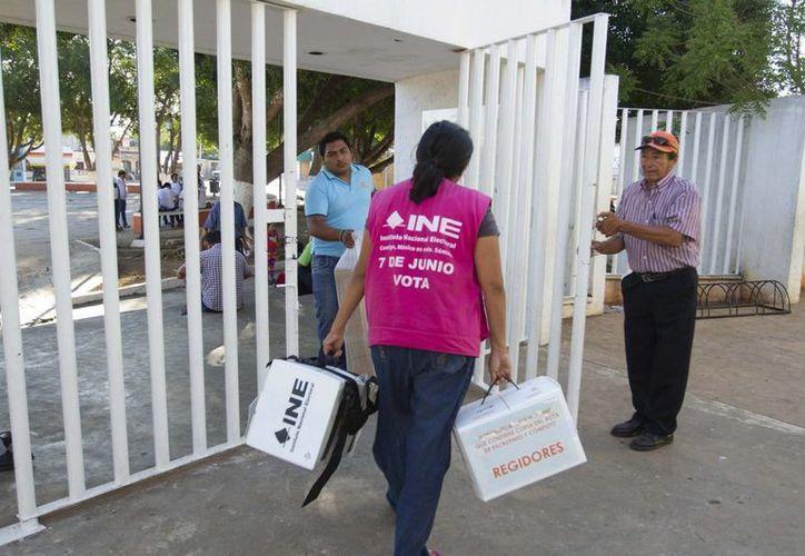 Este miércoles 10 de junio sesionarán los 15 consejos distritales y los 106 consejos municipales para realizar el cómputo de las elecciones de Yucatán. (Notimex)