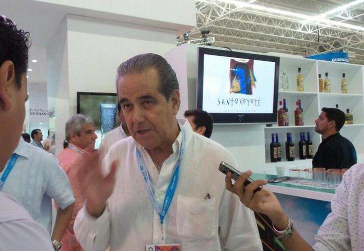 El secretario de Turismo del Estado de Jalisco, Enrique Ramos Flores. (Twitter/@TianguisTurMX14)